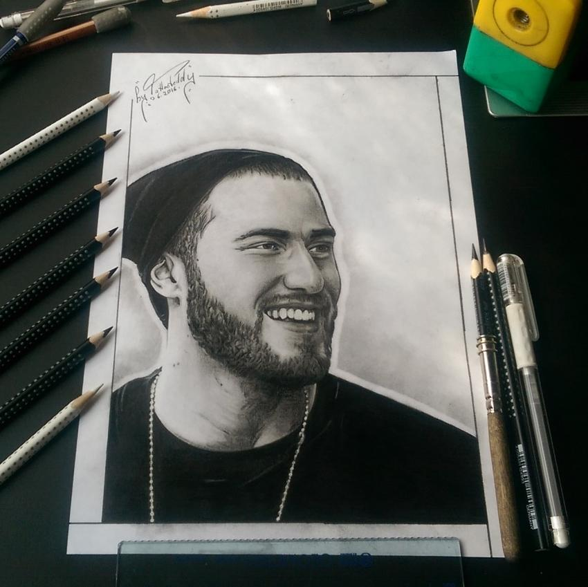 Mike Posner by byTattooteddy